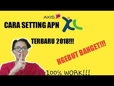 Cara Setting Apn Kartu Xl/Axis Terbaru 2018 SUPER NGEBUT+TIDAK LAG SAAT BERMAIN MOBILE LEGENDS!!!