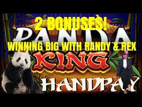 HANDPAY PANDA KING - 2 BONUSES!