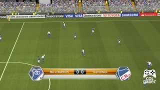 Millonarios VS Nacional Pes 2014 [Gameplay] [Comentarios Mexicanos] [1080P]