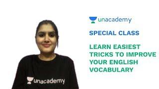 Special Class - SSC CGL /Bank Exams - Easiest Tricks to Improve English Vocabulary - Madhu Raghav