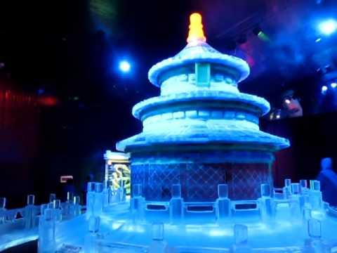 Ice Colliseum Sculpture Venetian Ice World In Macau YouTube - Where is macau in the world
