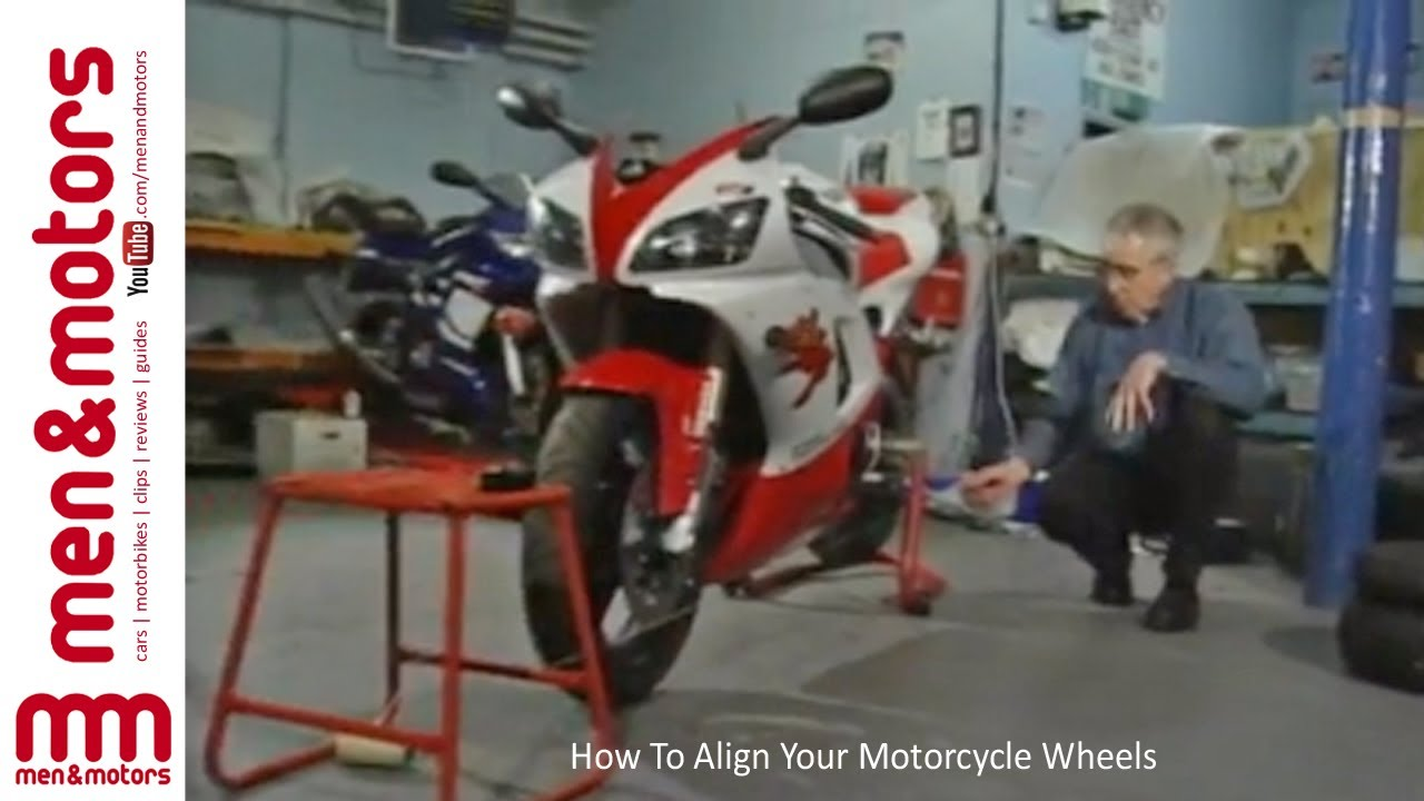 How To Align Your Motorcycle Wheels