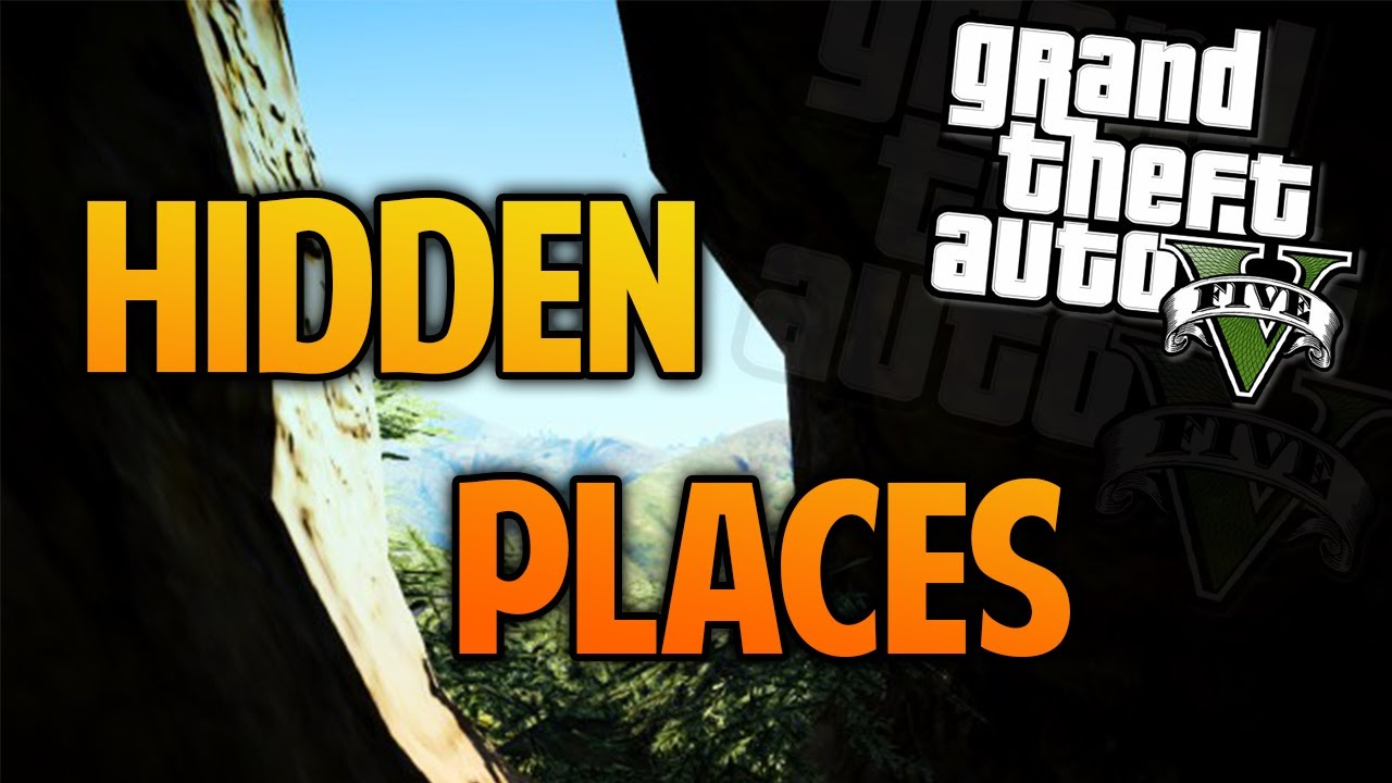Gta  Hidden Places Secret Locations Gta  Hidden Locations Youtube