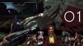 Vamos jogar Batman Arkham Asylum - parte 1 detonado Início Asilo Arkham