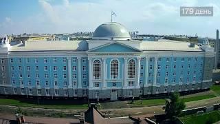 видео: 181 день строительства Нахимовского училища в Санкт-Петербурге