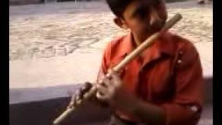 ghar aya mera pardesi flute,,,,,,,,.played by Kashan