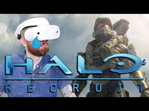 THIS IS AWFUL!! Halo Recruit Dell Windows Mixed Reality Gameplay