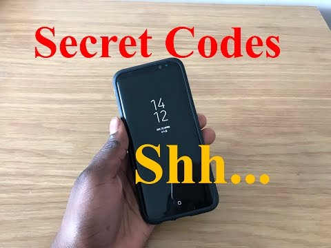 Samsung Galaxy S8/S9 Plus - SECRET CODES