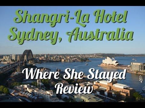 Shangri-La Hotel Sydney, Australia Review