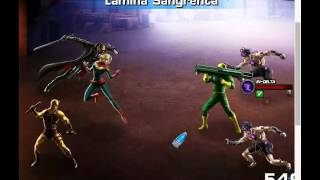 Marvel Avengers Alliance Briguentos vs Armin Zola 2
