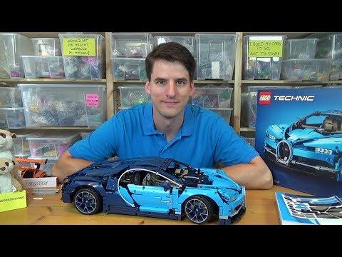 Eine 370€ Enttäuschung – LEGO® Technic 42083 – Bugatti Chiron