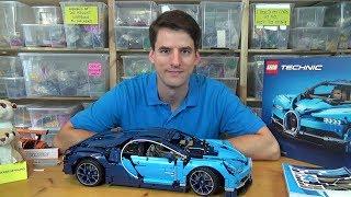 Eine 370€ Enttäuschung - LEGO® Technic 42083 - Bugatti Chiron