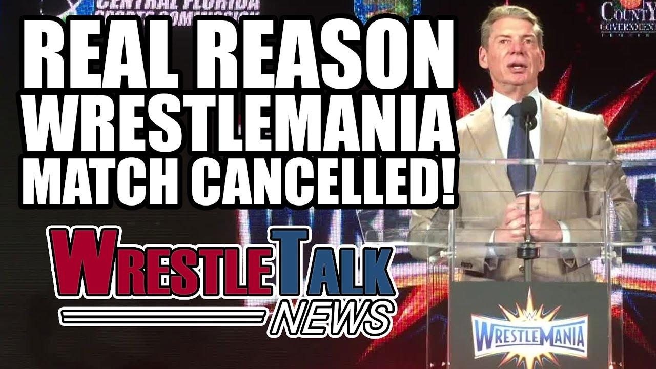 Hulk Hogan Returning To WWE? Why BIG Wrestlemania 33 Match Cancelled! |  WrestleTalk News Mar  2017