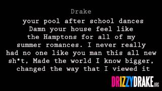 Drake - Look What Youve Done Lyrics [Video]