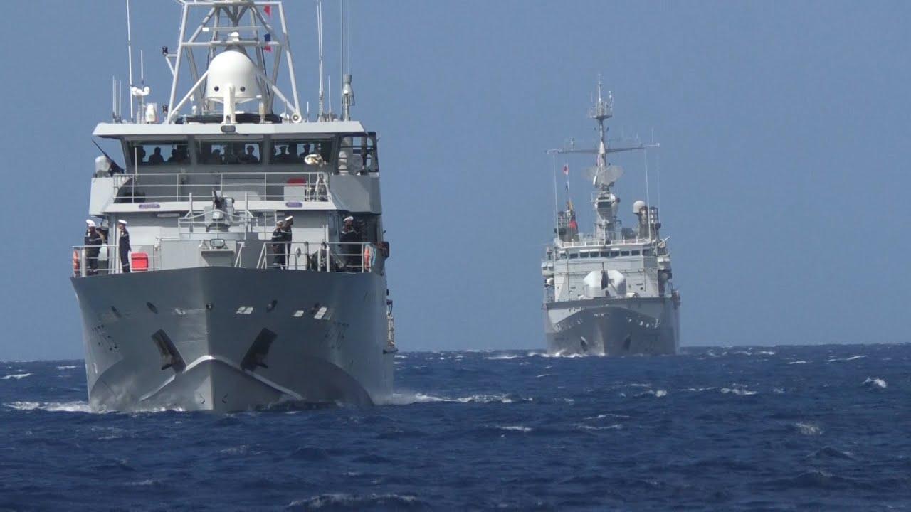 La Combattante, nouveau patrouilleur de la Marine Nationale, entre en service