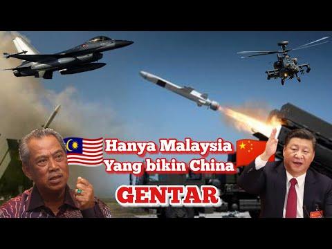 Indonesia Saja Gak Berani ,,, Justru Malaysia Tantang China