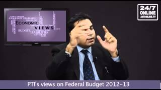Economic Views - Federal Budget 2012-2013 and Government's Tax Targets