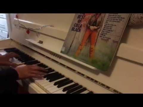 Cilla Black's Step Inside Love for solo piano