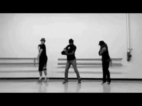 Shane Harper, Micah Williams and Grey dance