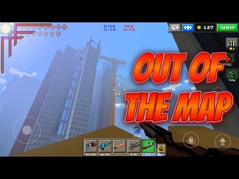 Pixel Gun 3D - Out Of The Map: Parkour City!