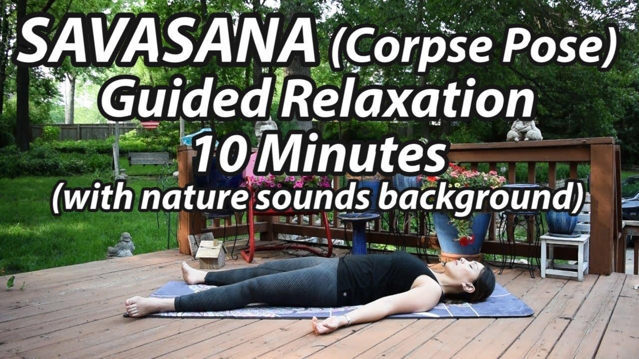 Yoga Savasana Guided Relaxation