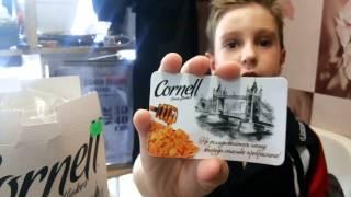Здоровый завтрак. Кукурузные хлопья Cornell.