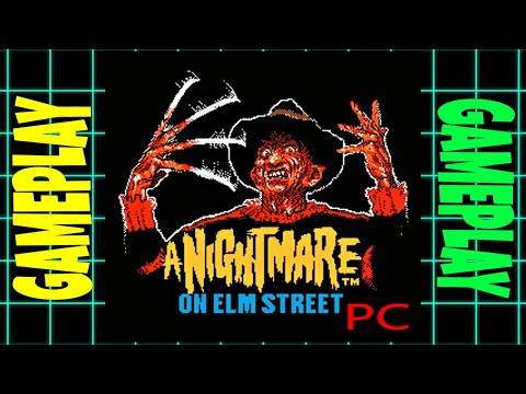A Nightmare On Elm Street ~ (1989) ~ (DOS) ~ Gameplay ((better than the NES game?))