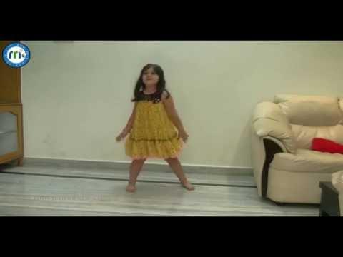 S O satyamurthy Baby Vernika dance performance on Super Machi song
