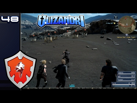 Final Fantasy XV - Wyverns, The Rock Of Ravatogh & The Perfect Product Placement - Episode 48