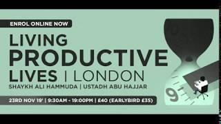 Sabeel seminar - Living Productive Lives