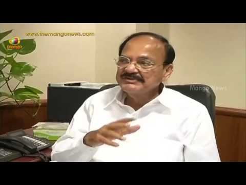 Urban Development Minister Venkaiah Naidu about housing development