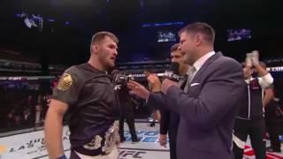 UFC 198: Stipe Miocic & Fabricio Werdum Octagon Interview
