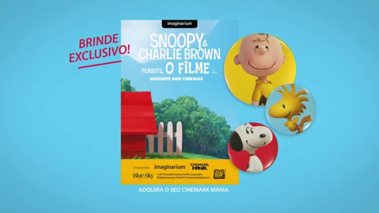 32cee0b904c78 Imaginarium + Snoopy + Cinemark Mania - YouTube