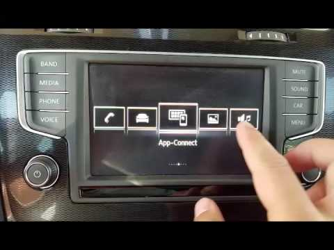 VW Golf Mk7 Analog Clock On Standby Screen How-To