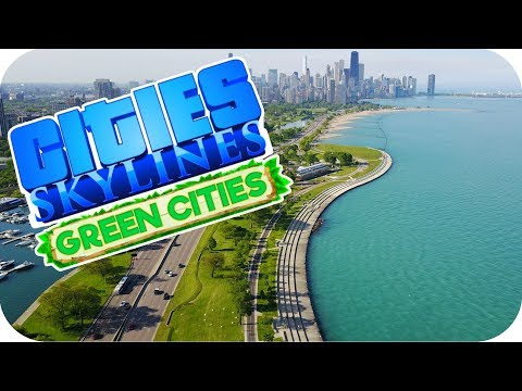 ▶NEW LAKE AREA BUILD◀ Cities: Skylines Green Cities DLC #70
