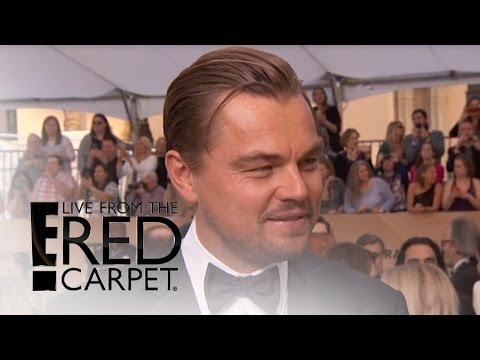 "Leonardo DiCaprio on Meeting The Pope and ""The Revenant"" 