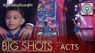 Little Big Shots Philippines: Kean | 4-year-old Kid Basketball Shooter
