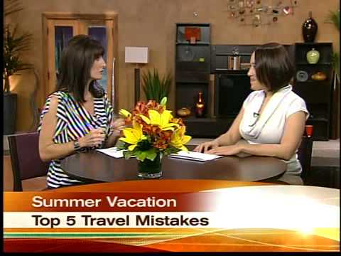 Top 5 travel mistakes to avoid before your next vacation.