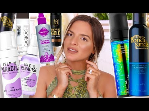 TRY THIS, NOT THAT! DARK SELF TANNERS I...