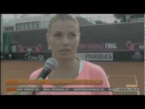 Videolina Sport 17.11.2013 Tennis A1 femm. settima giornata Cagliari-Mestre