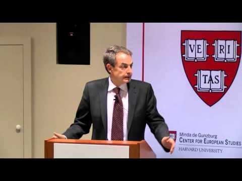 Europe Beyond the Financial Crisis - José Luis Rodríguez Zapatero