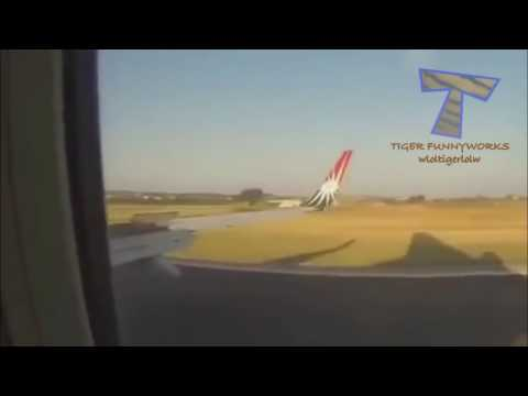 Fun and crazy flying moments   Fail compilation
