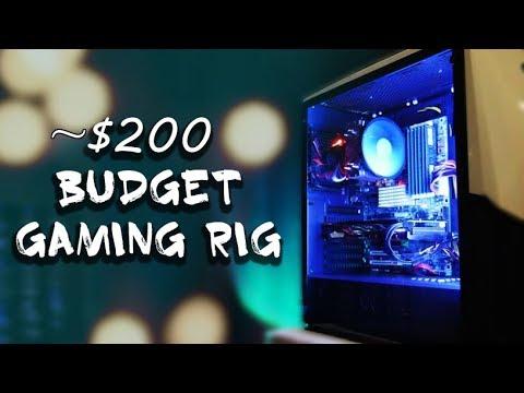 ~$200 Gaming HP Z400 Build! // XEONS, BABY!