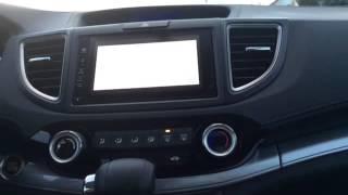 2015 Honda CRV enable HDMI while driving Waze Google Maps
