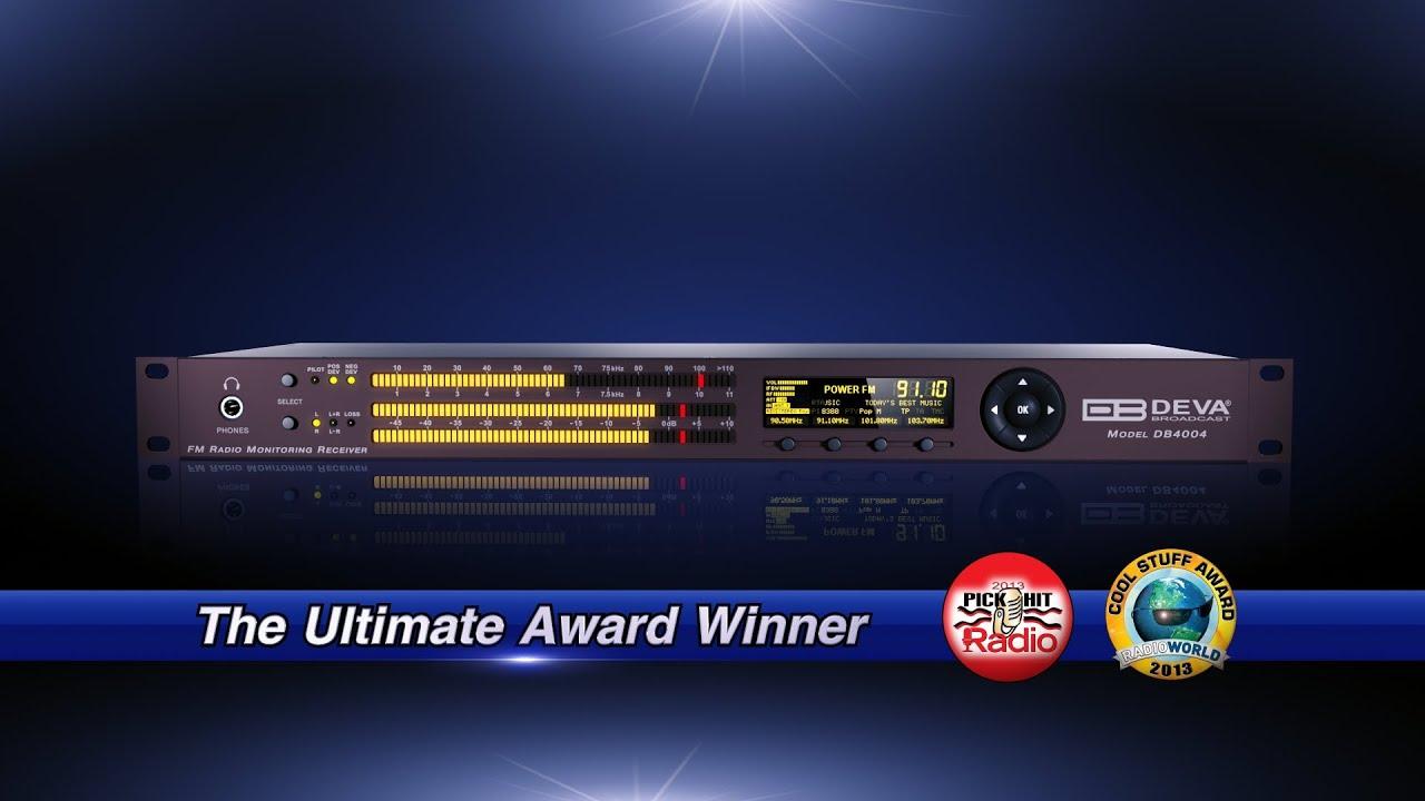 DEVA Broadcast - Products - FM Radio Monitoring - DB4004