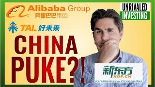 Why China Stocks PUKED? Alibaba (BABA Stock), Tal Education (TAL Stock) & New Oriental (EDU Stock)