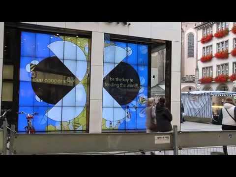 16 Oct 2012 World Food Day, Munich Prinzregentenstr. /Ecke Kaufingerstr.