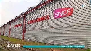 9h50 le matin au technicentre industriel SNCF