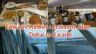 Emirates Airlines | Economy Class | Dubai to Karachi