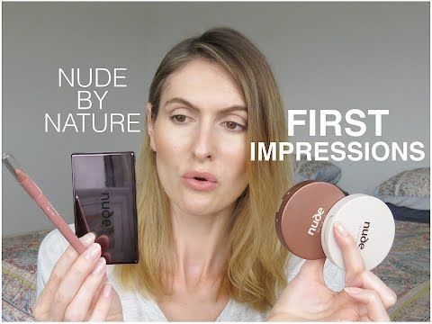 Nude by Nature First Impression & Review - My Dainty Derriere